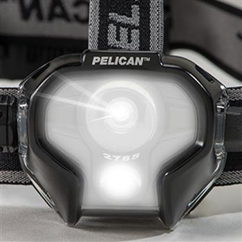 Pelican 2785 LED Headlamp Front View
