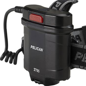 Pelican 2785 LED Headlight rear mount battery pack