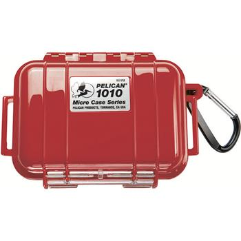 Red Pelican 1010 Micro Case with Black Liner