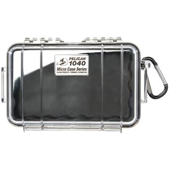 Clear Pelican 1040 Micro Case with Black Liner