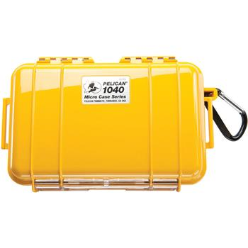 Yellow Pelican 1040 Micro Case with Black Liner
