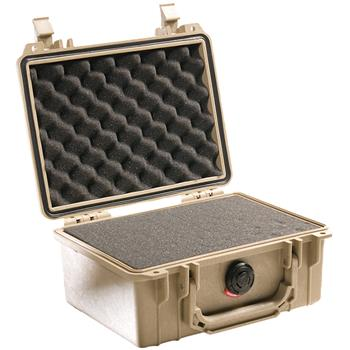 Desert Tan Pelican 1150 Case with Foam