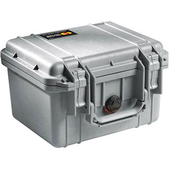 Silver Pelican 1300 Case with No Foam