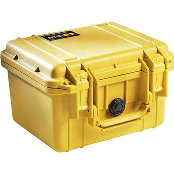 Yellow Pelican 1300 Case with No Foam