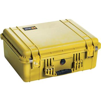 Yellow Pelican 1550 Case with No Foam