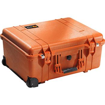 Orange Pelican 1560 Case with No Foam