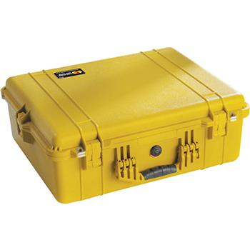 Yellow Pelican 1600 Case with Foam