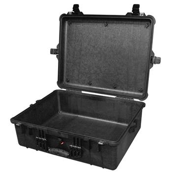 Black Pelican 1600 Case with No Foam