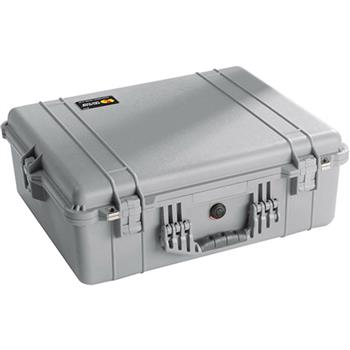 Silver Pelican 1600 Case with No Foam`