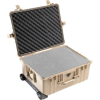 Desert Tan Pelican 1610 Case with Foam