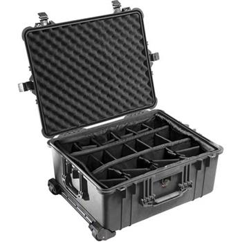 Black Pelican 1610 Case with Padded Dividers