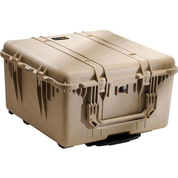 Desert Tan Pelican 1640 Transport Case with Foam
