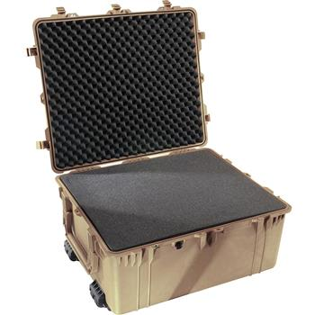 Desert Tan Pelican 1690 Transport Case with Foam