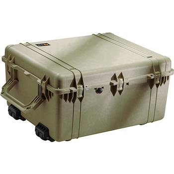 Olive Drab Pelican 1690 Transport Case - No Foam