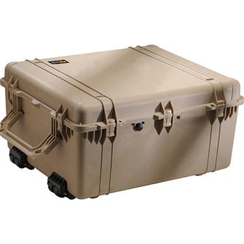 Desert Tan Pelican 1690 Transport Case with No Foam