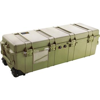 Olive Drab Pelican 1740 Long Case with No Foam
