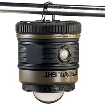 The Siege Lantern hang with incorporated d-ring