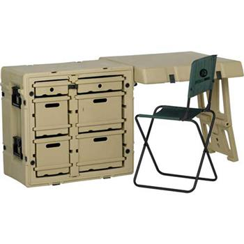 Tan Pelican Field Desk