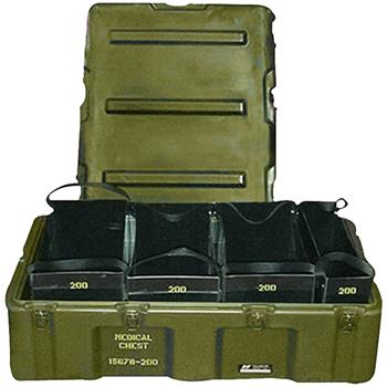 Olive Drab Pelican Medical Tote Case