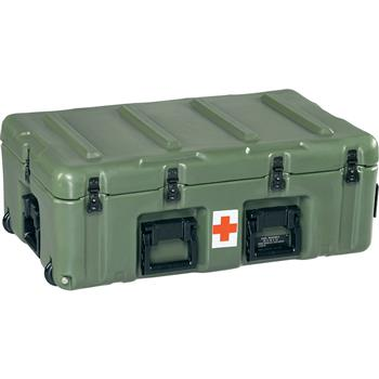 Olive Drab Medical Supply Chest