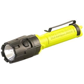 Yellow Streamlight Dualie 2AA LED Flashlight