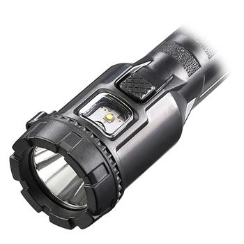 Streamlight Dualie® 3AA LED Flashlight push-button switches for spot, flood, spot and flood simultaneously