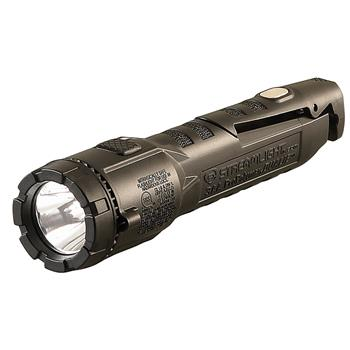Black Streamlight Dualie 3AA with Magnetic Clip