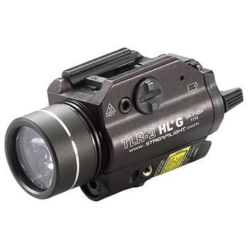 Streamlight TLR-2 HL G Weapon Light with green laser