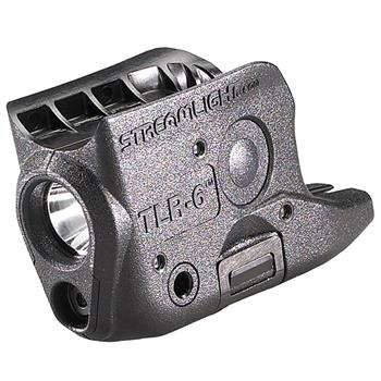 Black Streamlight TLR-6® Glock® Weapon Light