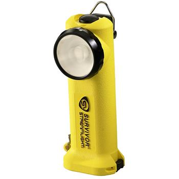 Yellow Streamlight Survivor LED Rechargeable Flashlight