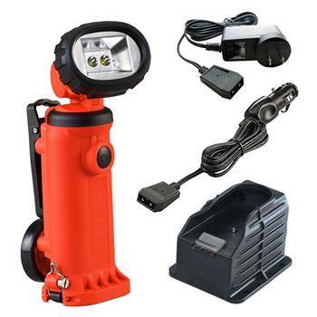 Orange Streamlight Knucklehead HAZ-LO Flood Worklight