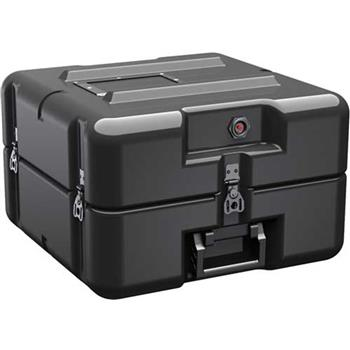 Black Pelican AL1616-0505 Single Lid Flat Case without Foam