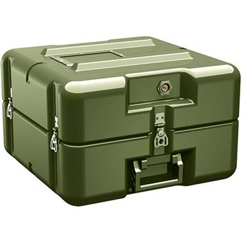 Olive Drab Pelican AL1616-0505 Single Lid Flat Case without Foam