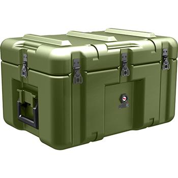 Olive Drab Pelican AL2013-0903 Single Lid Flat Case with Foam