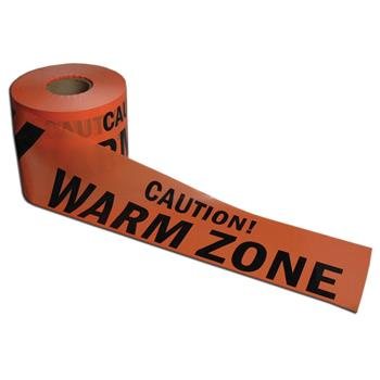 Warm Zone Barrier Tape