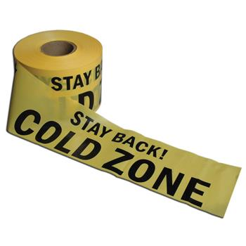 Cold Zone Barrier Tape