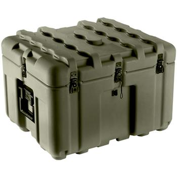 Olive Drab Pelican IS2117-1103 Inter-Stacking Pattern Case with Foam