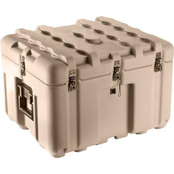 Tan Pelican IS2117-1103 Inter-Stacking Pattern Case with Foam