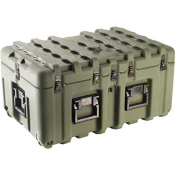 Olive Drab Pelican IS2917-1103 Inter-Stacking Pattern Case with Foam