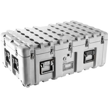 Gray Pelican IS3721-1103 Inter-Stacking Pattern Case with Foam