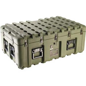 Olive Drab Pelican IS3721-1103 Inter-Stacking Pattern Case with Foam