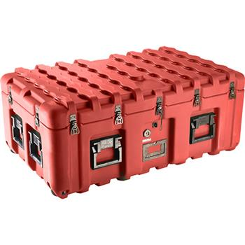 Red Pelican IS3721-1103 Inter-Stacking Pattern Case with Foam