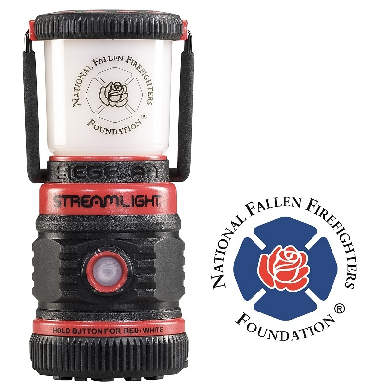 Red Streamlight Siege AA Lantern
