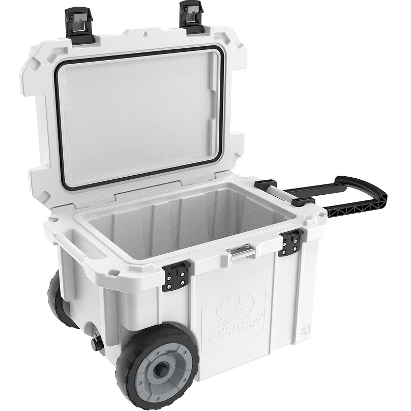 Pelican 45 Qt Elite Cooler With Wheels White Lowest Prices
