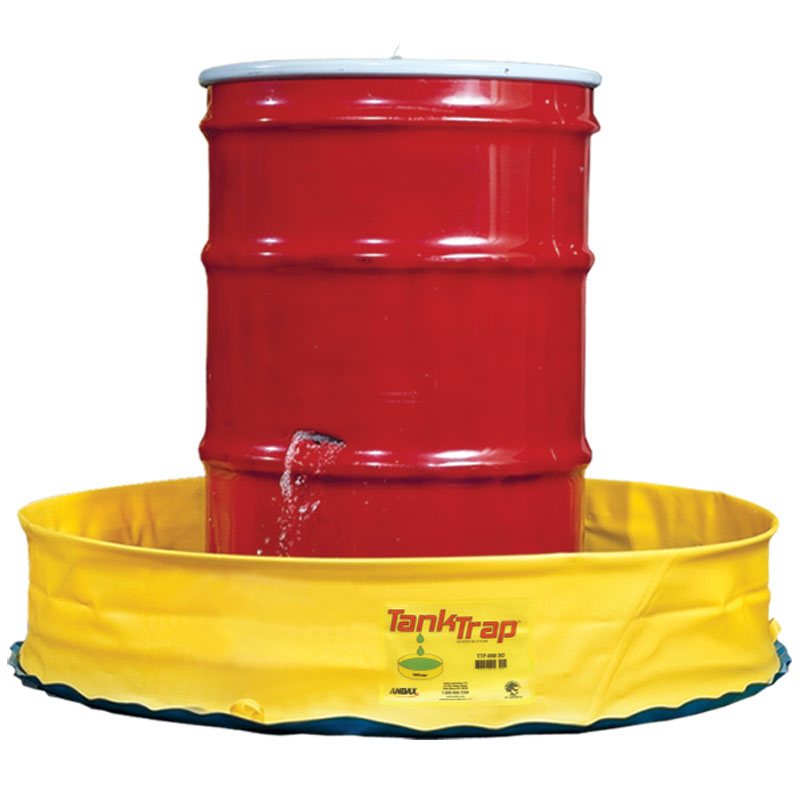 Tank Trap™ spill containment popup pool