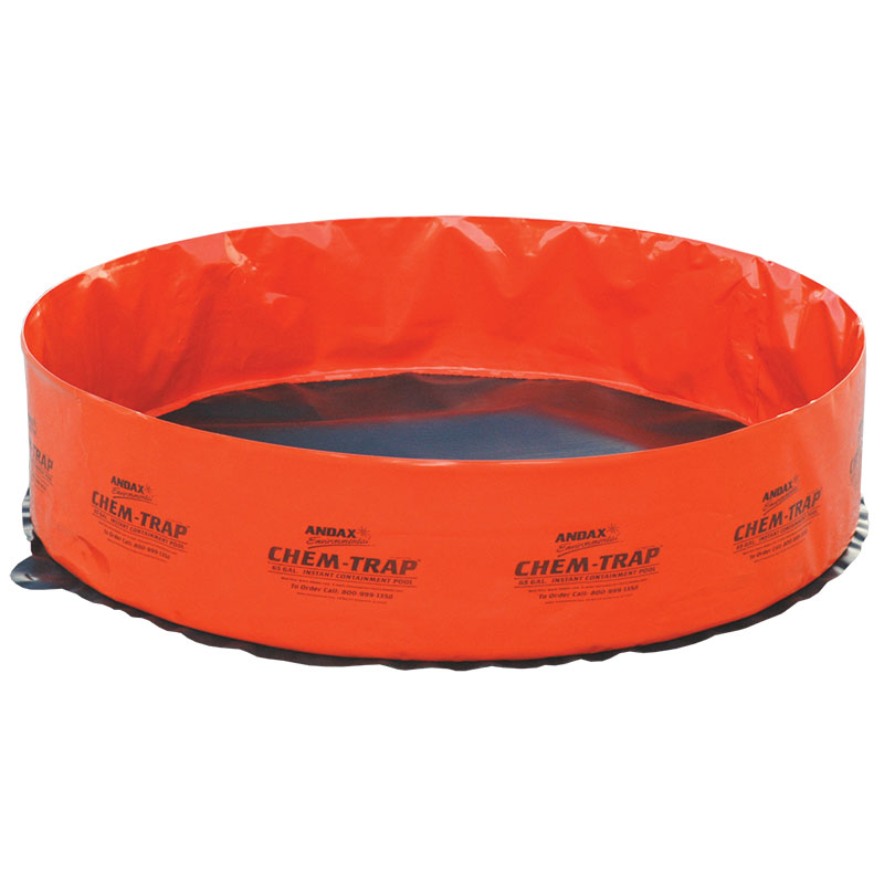 Chemical-resistant Spill Containment Popup Pool 65-Gallon Chem-Trap™