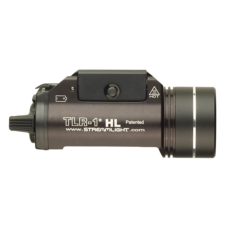 1,000 Lumens Streamlight 69264 TLR-1 HL Earless Rail Mounted Tactical Light