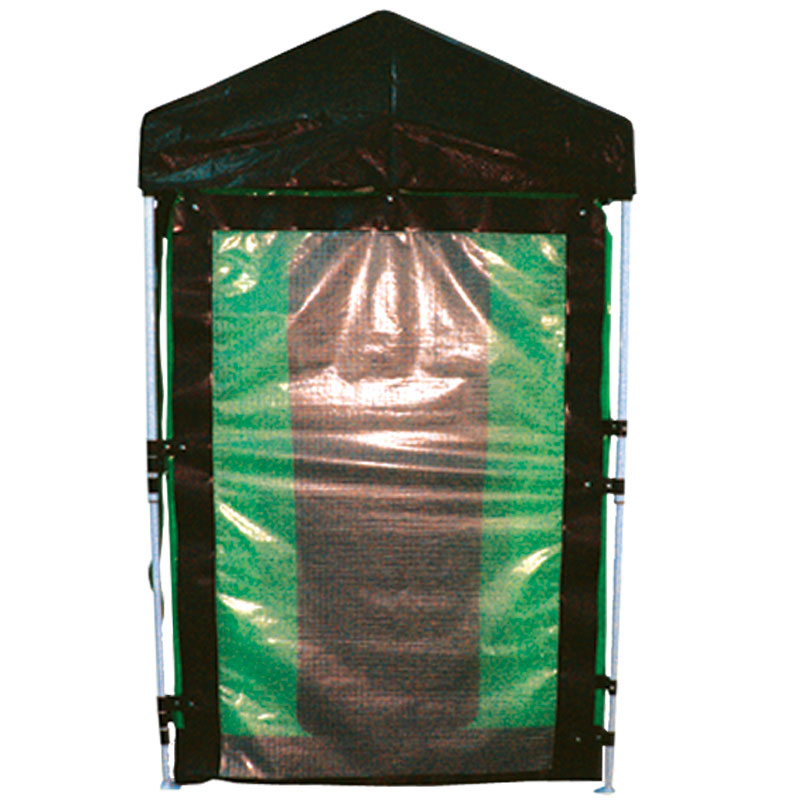 Portable Hazmat De-Con Shower Storm Door