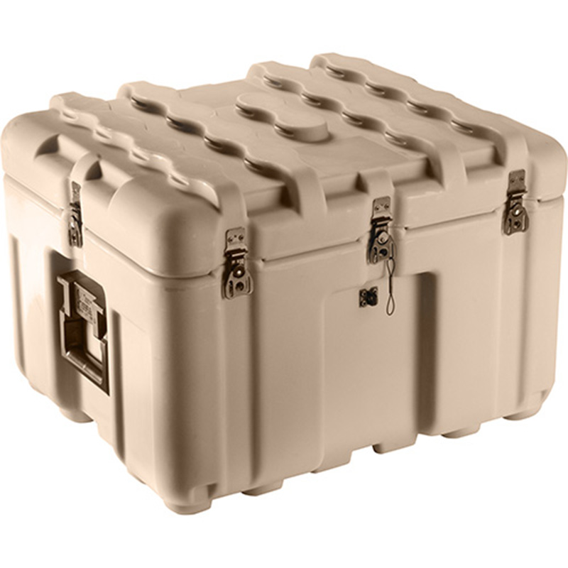 Tan Pelican IS2117-1103 Inter-Stacking Pattern Case without Foam