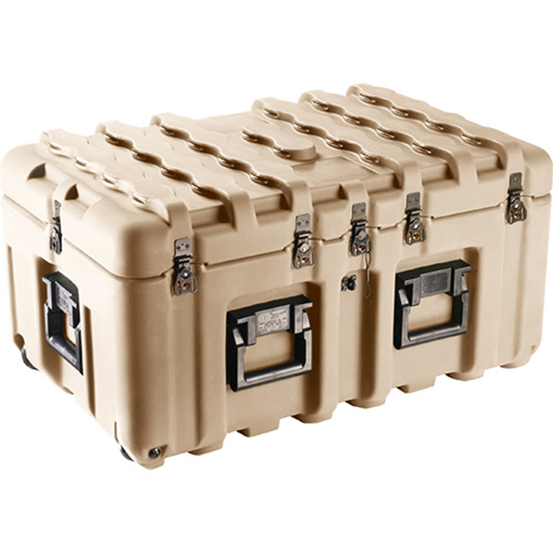 Tan Pelican IS2917-1103 Inter-Stacking Pattern Case with Foam